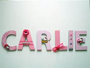 1000 images about girls custom wall letters on pinterest With girls wall letters