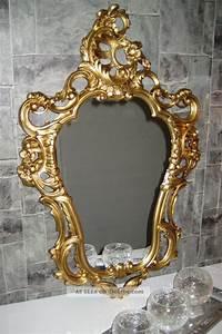 Barock Spiegel Gold Antik : exklusive repro spiegel wandspiegel gold 50 x 76 antik barock wanddeko 118 3 ~ Bigdaddyawards.com Haus und Dekorationen