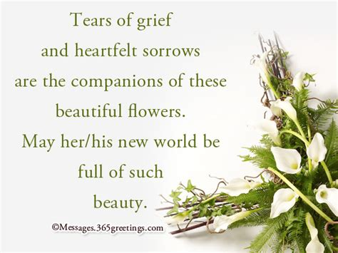 bereavement messages  quotes greetingscom