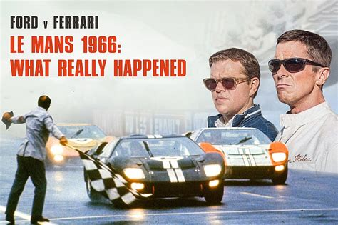 Don't forget to like, share and subscribe film: Ford vs Ferrari en Le Mans 66 - ¿qué ocurrió realmente?