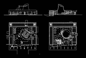 Parliament Building By Le Corbusier Dwg Block For Autocad  U2013 Designs Cad
