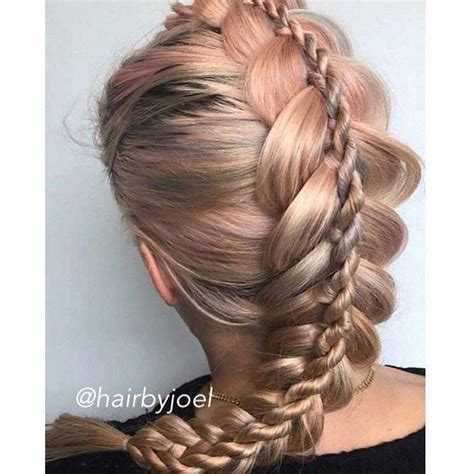 Braided Hairstyles And Creative by Creative Braiding By Hairbyjoel Stacked Braid