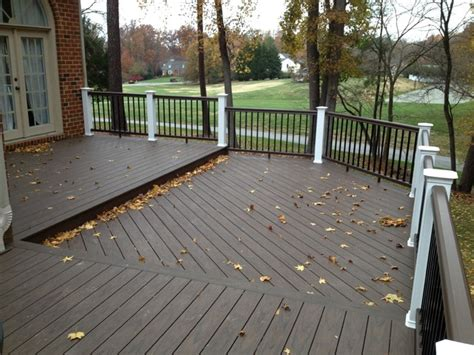 Elm Fireplaces by Reeds Landing Deck Rebuild With Timbertech Xlm