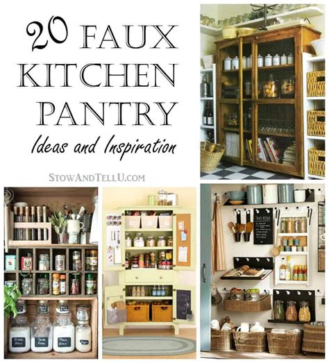 I have no idea why we have so much peanut butter! 20 Faux Kitchen Pantry Ideas | Stow&TellU