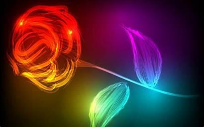Wallpapers Colorful Flowers Abstract Desktop Sfondi Laptop