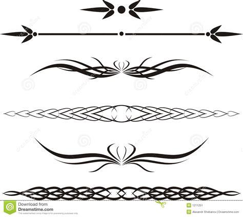 Decorative Scroll Line Clip Art