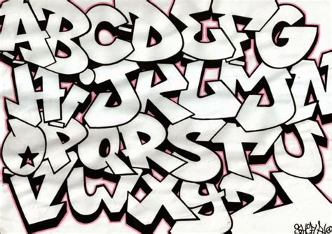Grafiti Yang Mudah : 150+ Gambar Grafiti Tulisan Huruf Nama 3d
