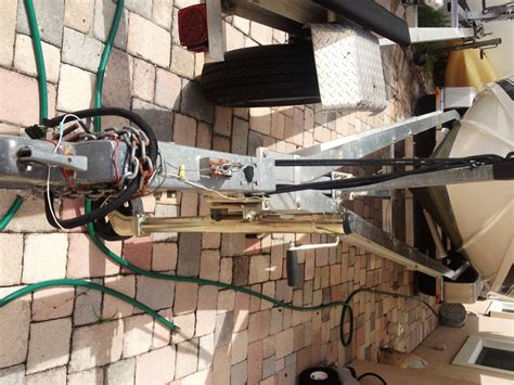 Boat Trailer Winch Adjustment by Moving Winch Stand Post Forward The Hull