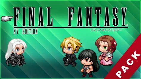 Rpg Maker Mv Final Fantasy Vii Resources Pack Youtube