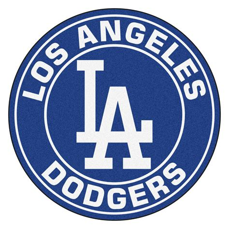Real Tree Camo Wallpaper Los Angeles Dodgers Logo Roundel Mat 27 Quot Round Area Rug