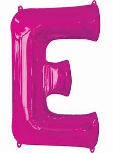giant pink letter e balloon 21in x 32in party city With giant pink letter balloons