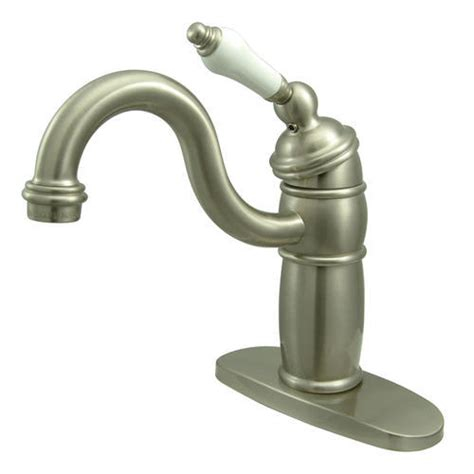 kingston brass victorian 1 handle heritage bathroom faucet