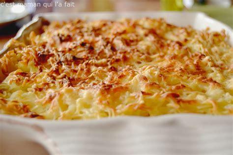 recettes de cuisine t駘駑atin gratin de pates allege 28 images recettes de gratin de pates et gratins 20 gratin