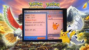 Pokemon Heart Gold U0026 Soul Silver Glu00e4nzendes Blatt Shiny