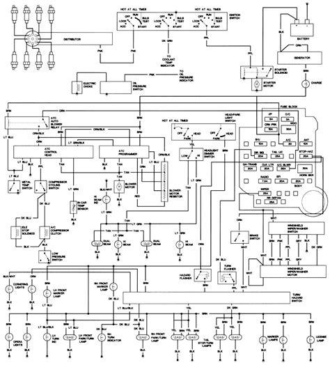 1993 Fleetwood Wiring Diagram by Free Auto Wiring Diagram 1977 1979 Cadillac Fleetwood