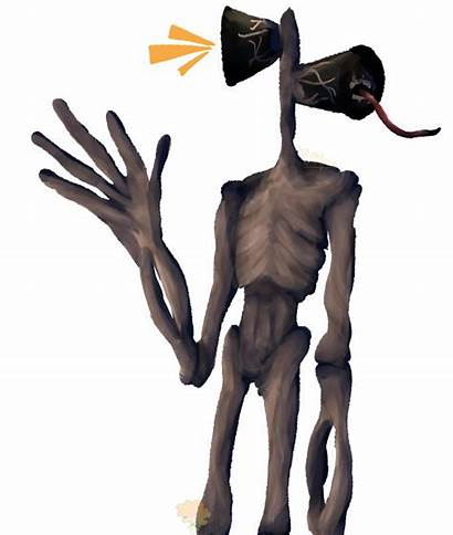 Siren Head Deviantart Scp Characters Horror Drawings