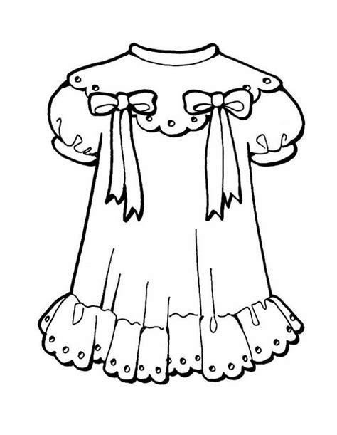 gambar mewarnai baju anak perempuan