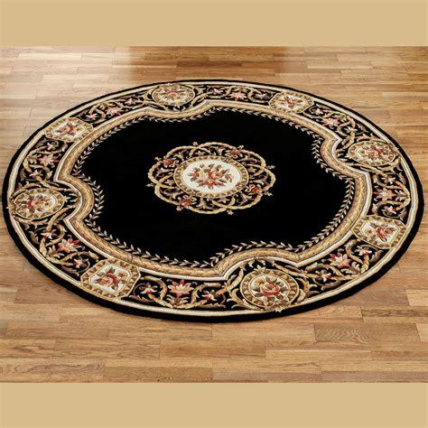 kitchen floor rug mats elegant medallion  wool area