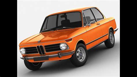 3d Model Bmw 2002 Tii Ti 02 Series 2000 1600 1500 1800