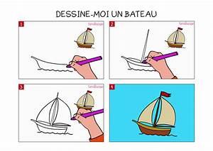 Comment Dessiner La Mer : apprendre dessiner un bateau en 3 tapes ~ Dallasstarsshop.com Idées de Décoration