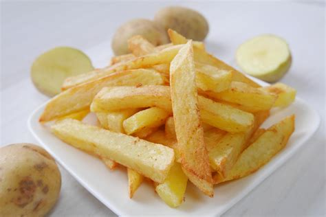 Home Made Fries by Recipe Crispy Fries Healthy Ideas