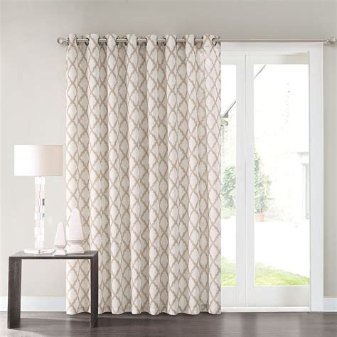 1000 ideas about patio door curtains on door