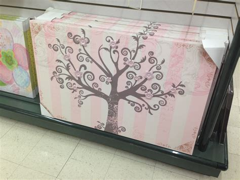 pink treeflower wall art hobby lobby mila marie pinterest pink trees lobbies  walls