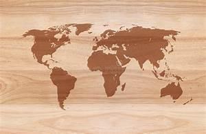 Carte Du Monde En Bois : carte du monde sur le fond en bois photo stock image du fond panneau 57847506 ~ Teatrodelosmanantiales.com Idées de Décoration