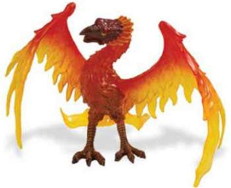 phoenix toy figurine  animal world