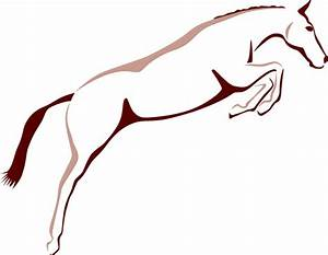 Jumping Horse Outline | www.imgkid.com - The Image Kid Has It!