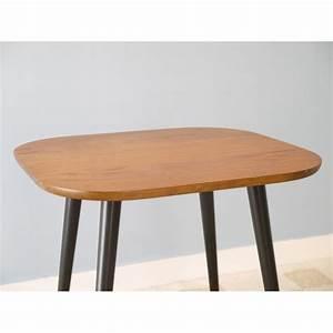 Table Pieds Compas : table basse vintage scandinave ann e 50 la maison retro ~ Teatrodelosmanantiales.com Idées de Décoration