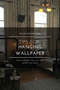 Tips for Hanging Wallpaper plus Other DIY tips
