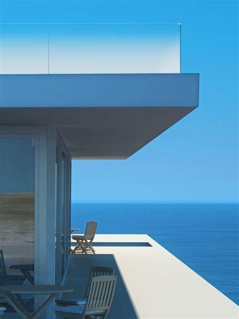 Aussen Balkon Nachträglich by Satin Glas Am Balkon Modernes Glasgel 228 Nder Design