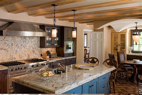 mediterranean kitchen home design  remodeling ideas