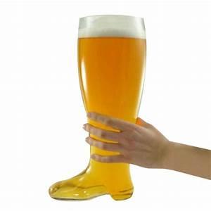 Verres à Biere : verre bi re g ant en forme de botte ~ Teatrodelosmanantiales.com Idées de Décoration