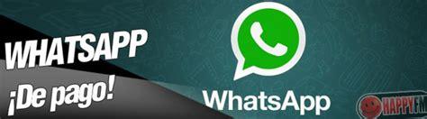 c 243 mo pagar whatsapp en android i phone y blackberry