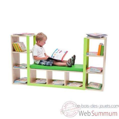 canapé bibliothèque canapé bibliotheque banc mobilier scolaire enfant