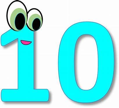 Number Clipart Ten Transparent Pinclipart