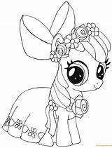Pony Apple Bloom Coloring sketch template