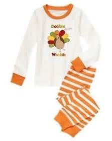 nwt gymboree turkey gobble till you wobble gymmies pajama pjs sleep set new