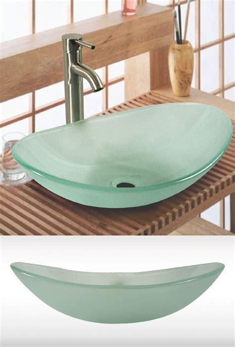 amazoncom  tempered glass vessel sink vanity bathroom