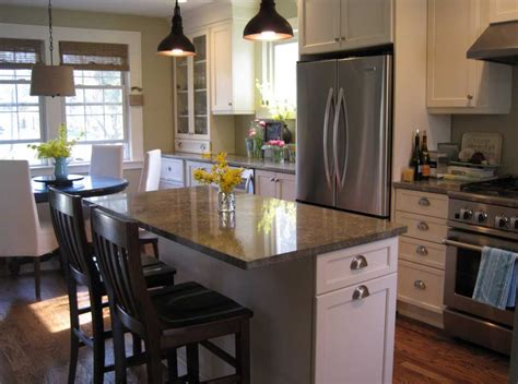 kitchen island in small kitchen designs how to design a small kitchen with seating and dining room