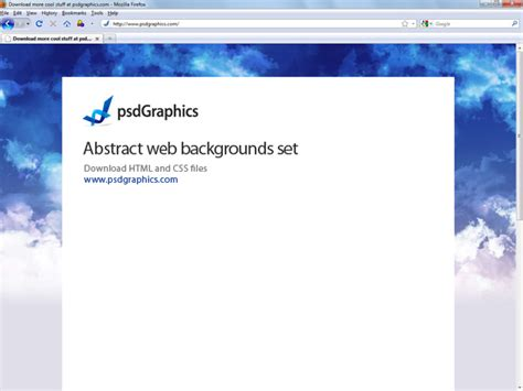 abstract website backgrounds html  css templates psdgraphics