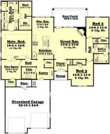 floor plans 2000 sq ft ranch style house plan 3 beds 2 baths 2000 sq ft plan 430 73