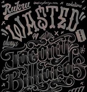 typography archive eric waetzig art direction design With custom lettering