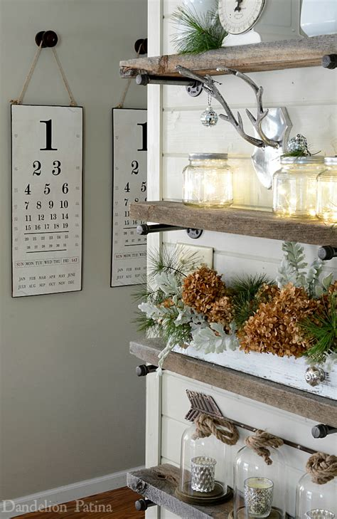 industrial farmhouse wall decor happy holidays home tour dining room industrial pipe Industrial Farmhouse Wall Decor