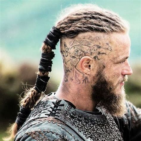 badass viking hairstyles  rugged men  guide coupe de cheveux viking cheveux