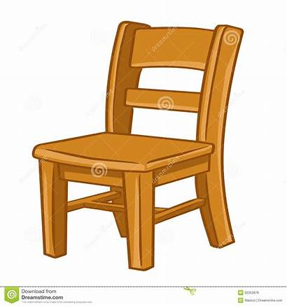 Chair Clipart Cartoon Illustration Wood Wooden Isolated