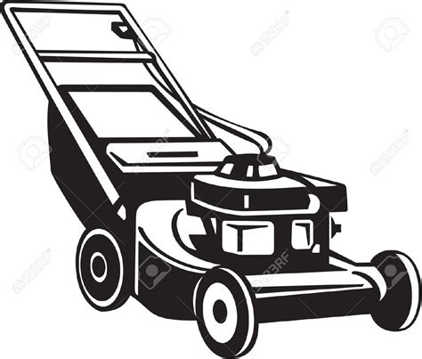Lawn Mower Clip Best Lawn Mower Clipart 15184 Clipartion