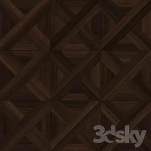 3d models floor coverings artistic parquet shield oak With artistic floor covering